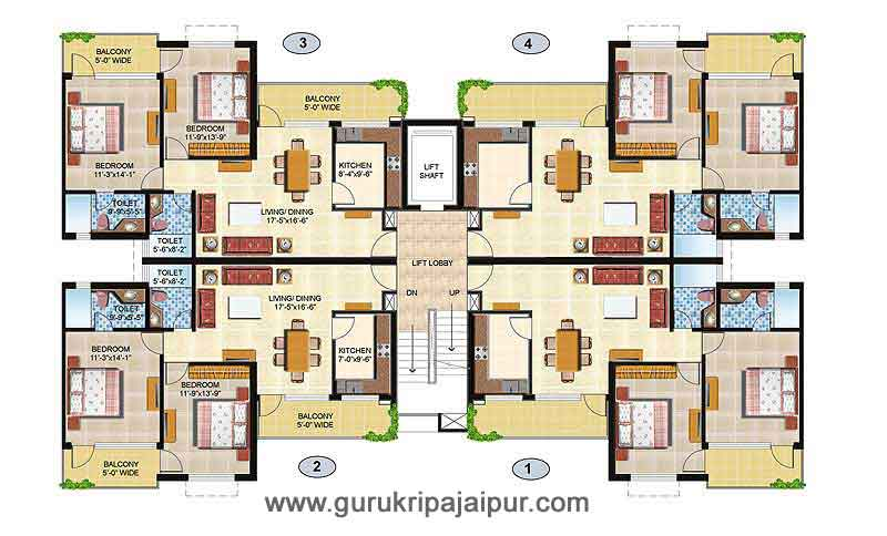 omaxe executive homes jaipur 2 3 bhk apartment flats for
