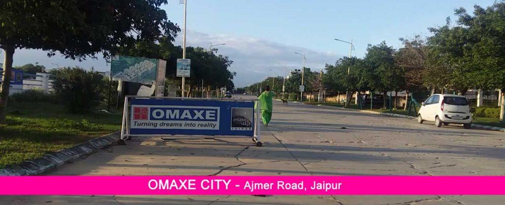 omaxe city thikariya, plots in ajmer road jaipur
